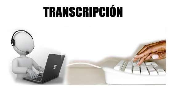Transcripción de audios, textos y formatos a tesis y otros