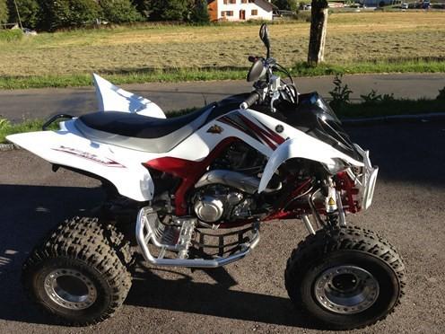 Vendo mi quad yamaha raptor 700r