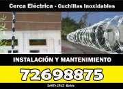 Cerco eléctrico y Cuchillas - 726988875