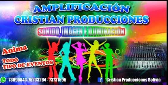 Empresa de sonido, imagen e iluminación
