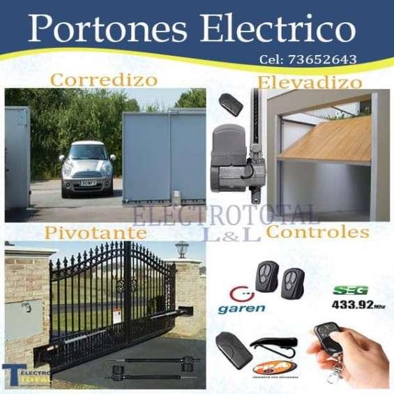 Motores automáticos para portón