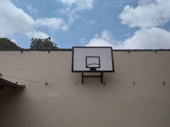 Hermoso tablero de basquet en venta