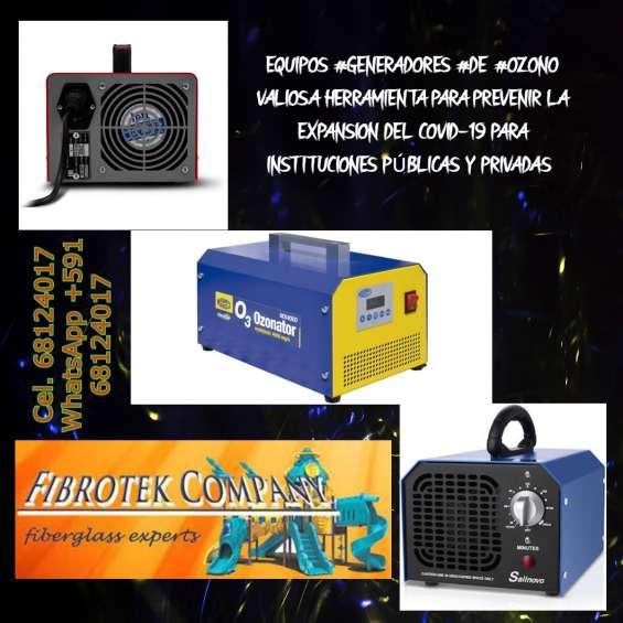 Fabricamos de generadores de ozono para desinfeccion de interiores