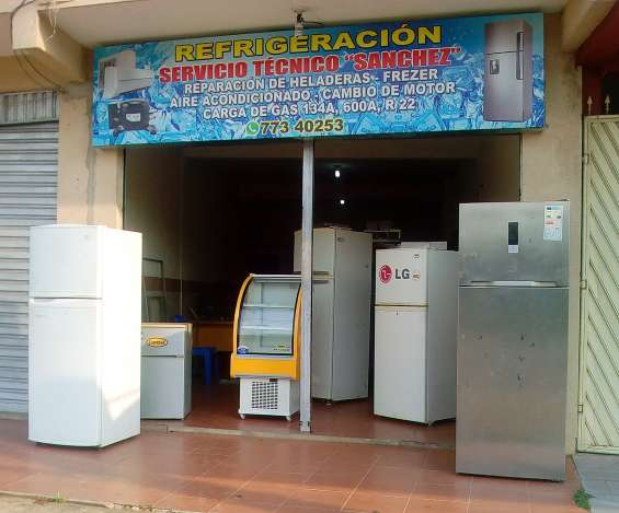 Taller de refrigeracion cel 78043808