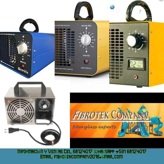 Construimos generadores de ozono par desinfeccion de ambientes