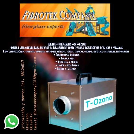 Realizamos generadoires de ozono para desinfeccion de covid-19
