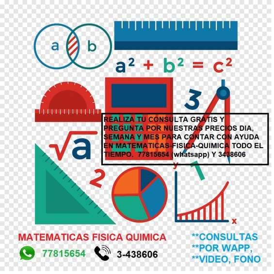 Matematicas domicilio o virtual
